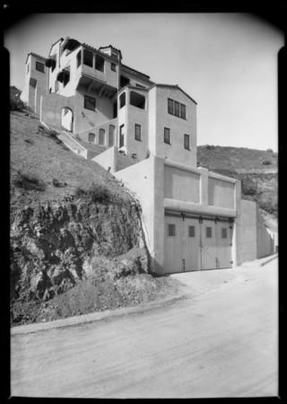 Homeowner George Hill, 2026 Ivar Avenue, Los Angeles, CA, 1926