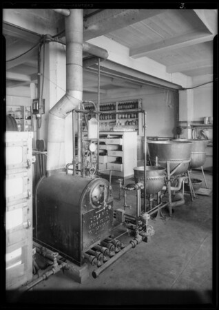 Steam boilers, Southern California, 1928