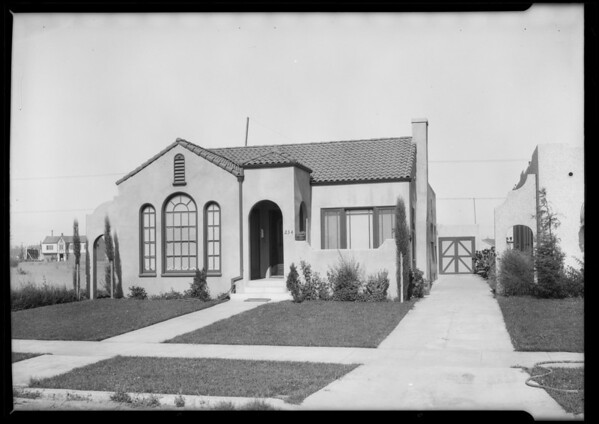 Home, 234 Gale Drive, Bevery Hills, CA, 1925