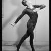 Dance portrait of man dancer, Southern California, 1934