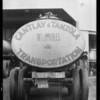 Cantlay and Tanzola truck, Southern California, 1934