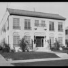 Apartment house - 1133 Queen Anne Place, Los Angeles, CA, 1928