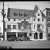 Exterior of building, 607 South Western Avenue, Los Angeles, CA, 1933