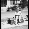 Baby at play, Southern California, 1933