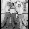 Midge Miller & Will Morrisey in dance pose, Music Box Theatre [Fonda Theater], 6126 Hollywood Boulevard, Los Angeles, CA, 1927