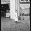 Sidewalk at 115 North Western Avenue, Los Angeles, CA, 1934