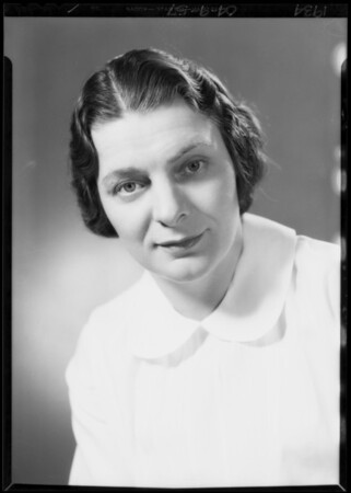 Retake on Miss Price, Southern California, 1934