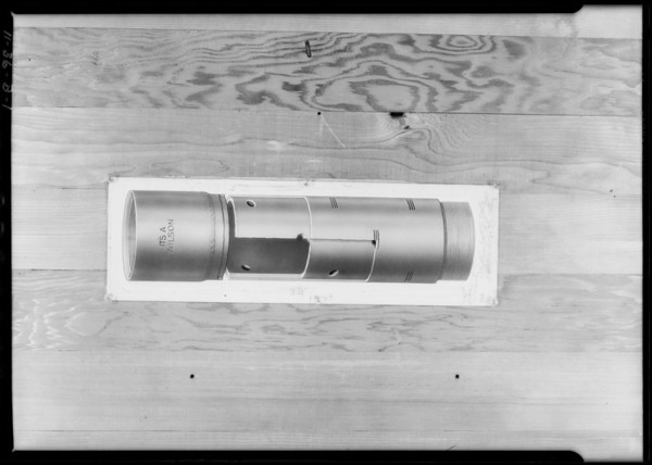 Wilson Willard Oil tools, Southern California, 1926