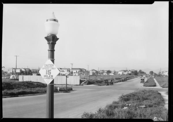 Pellissier Square, Los Angeles, CA, 1928