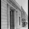 San Pedro & Vermont Branch, Pacific Southwest Bank, Southern California, 1925