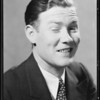 Man winking, Southern California, 1934