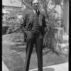 "Mr. Foster in ""Gentlemen Prefer Blondes"", Southern California, 1927"
