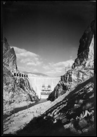 Horse Mesa Dam, Tonto National Forest, AZ, 1932