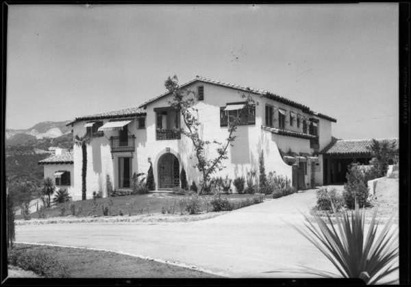 Ammandale Estates, Southern Calfornia, 1927
