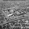 Aerial photographs of Los Angeles Memorial Coliseum, Los Angeles, CA, [s.d.]