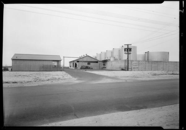 Harbor sub station, Terminal Island, Southern California, 1931