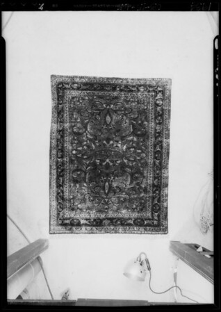 Rugs, Southern California, 1934