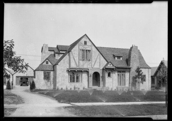 English architecture, Southern California, 1925