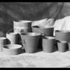 Group of tubs, Southern California, 1932