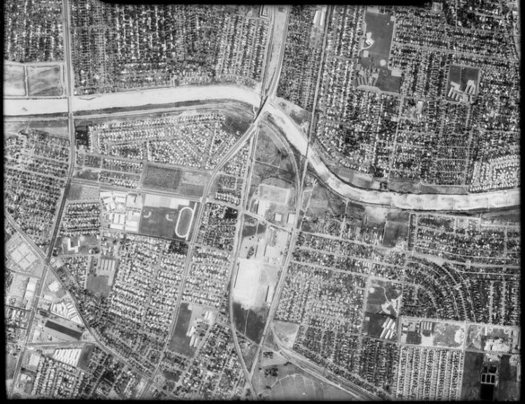 Aerial photographs of Southern California, [s.d.]