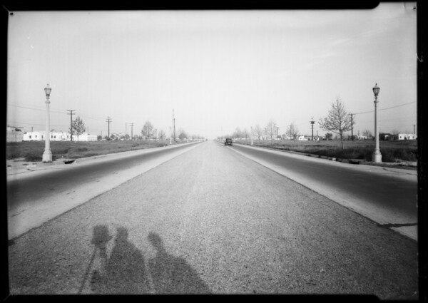 Intersection of East 9th Street and South Hanover Street, Nellie Watkmi vs. Elizabeth Paine, Southern California, 1934