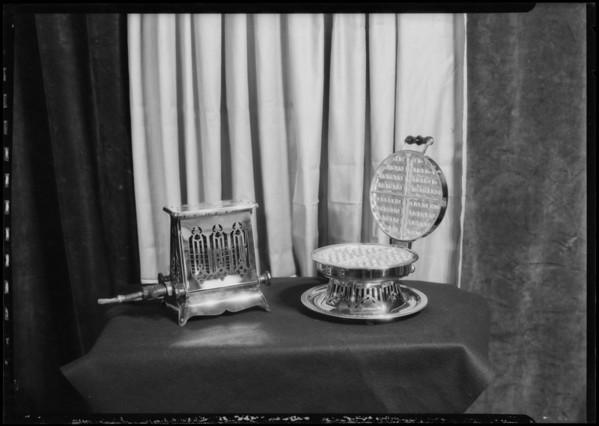 Home furnishings, Southern California, 1925