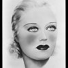 Copies of heads of movie stars, Southern California, 1939