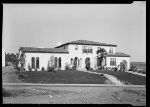 134 North Woodburn Avenue, Highland Hills, Los Angeles, CA, 1927
