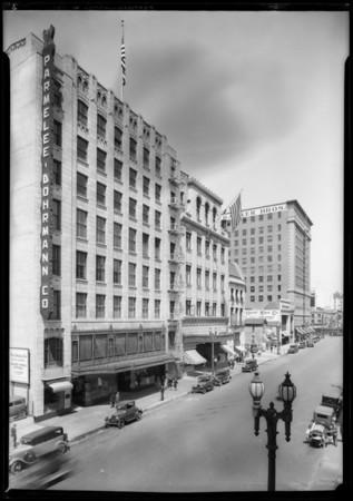 Parmelee Dohrmann Building, 7th Street, Los Angeles, CA, 1928
