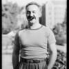 Ted Fio Rito, Southern California, 1933