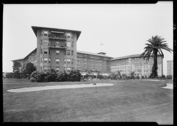 Hotels and homes, Los Angeles, CA, 1926