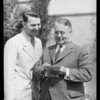 Oil Henderson and Mayor Shaw, Southern California, 1933