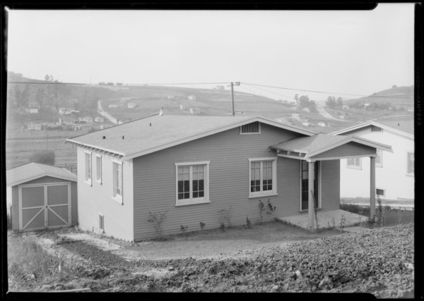 Homes at City Terrace, CA, 1927