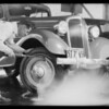 Cleaning cars for Broadside, Southern California, 1934