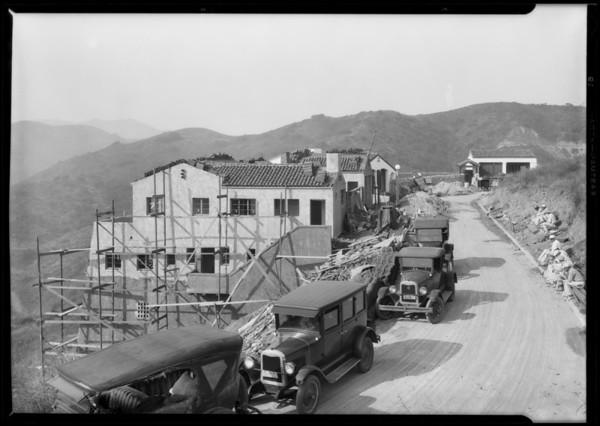 Vinecrest Development, Hollywood, Los Angeles, CA, 1926