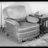 Furniture and rugs, Los Angeles, CA, 1932