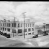 Building exterior, Yellow Cab, Southern California, 1928