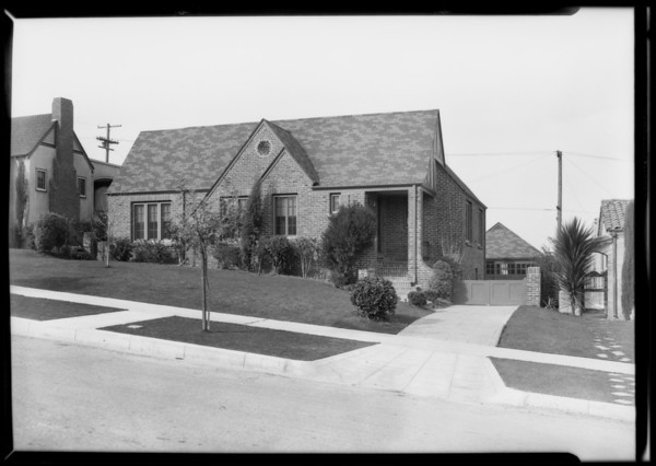Homes, L. A. Investment, Southern California, 1928
