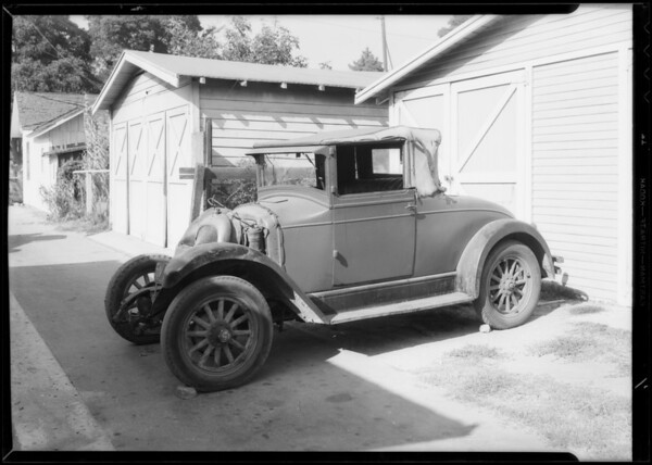 Whippet coupe, File #21998, Southern California, 1933