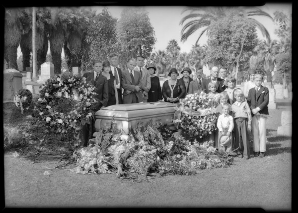 B. Rosedale Cemetery, Southern California, 1931