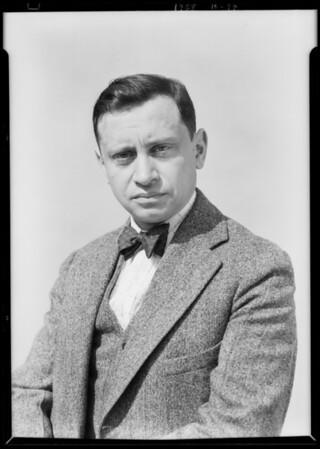 Mr. M. Lindenbaum, druggist at Leimert Market, Southern California, 1928