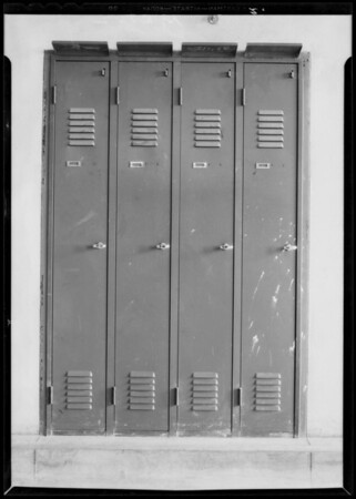 County Hospital, Metal Door and Trim, Los Angeles, CA, 1932