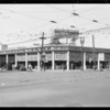 New store publicity, West Pico Boulevard & South Figueroa Street, Los Angeles, CA, 1934