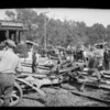 Street car & truck wreck on Cahuenga Pass, Los Angeles, CA, 1924