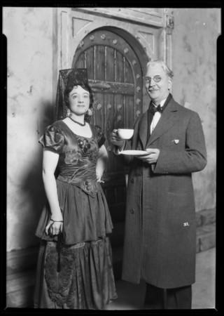 San Rafael Mission play, opening, Southern California, 1927