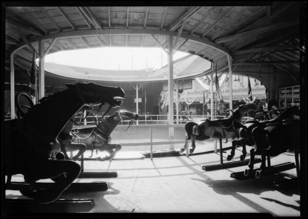 Merry-Go-Round, Venice, Los Angeles, CA, 1931