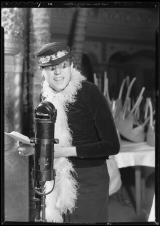 Guy Lombardo & Izzie Lish, Southern California, 1933