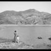 Bel Air Lake, Los Angeles, CA, 1924
