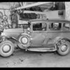 Dodge sedan, R.H. Denham, owner & assured, File #7770, Southern California, 1933