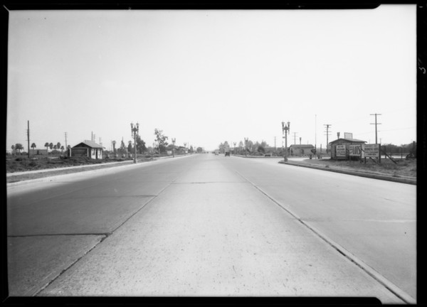 Intersection of North Long Beach Boulevard and East Palmer Street, assured, Kraintz, Compton, CA, 1933